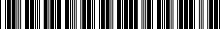 Barcode for 04677435AC