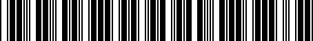 Barcode for 04781264AC