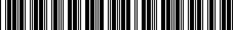 Barcode for 1AG02TZZAB