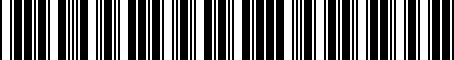 Barcode for 52014438AA