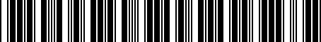 Barcode for 52057949AC