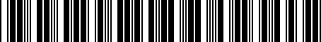 Barcode for 04805332AD