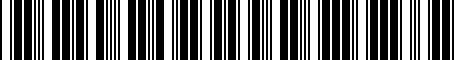 Barcode for 05028807AC