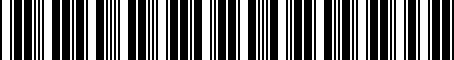Barcode for 05072525AA