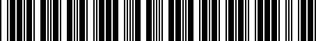Barcode for 55136098AC