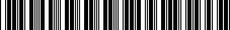 Barcode for 56000724AB