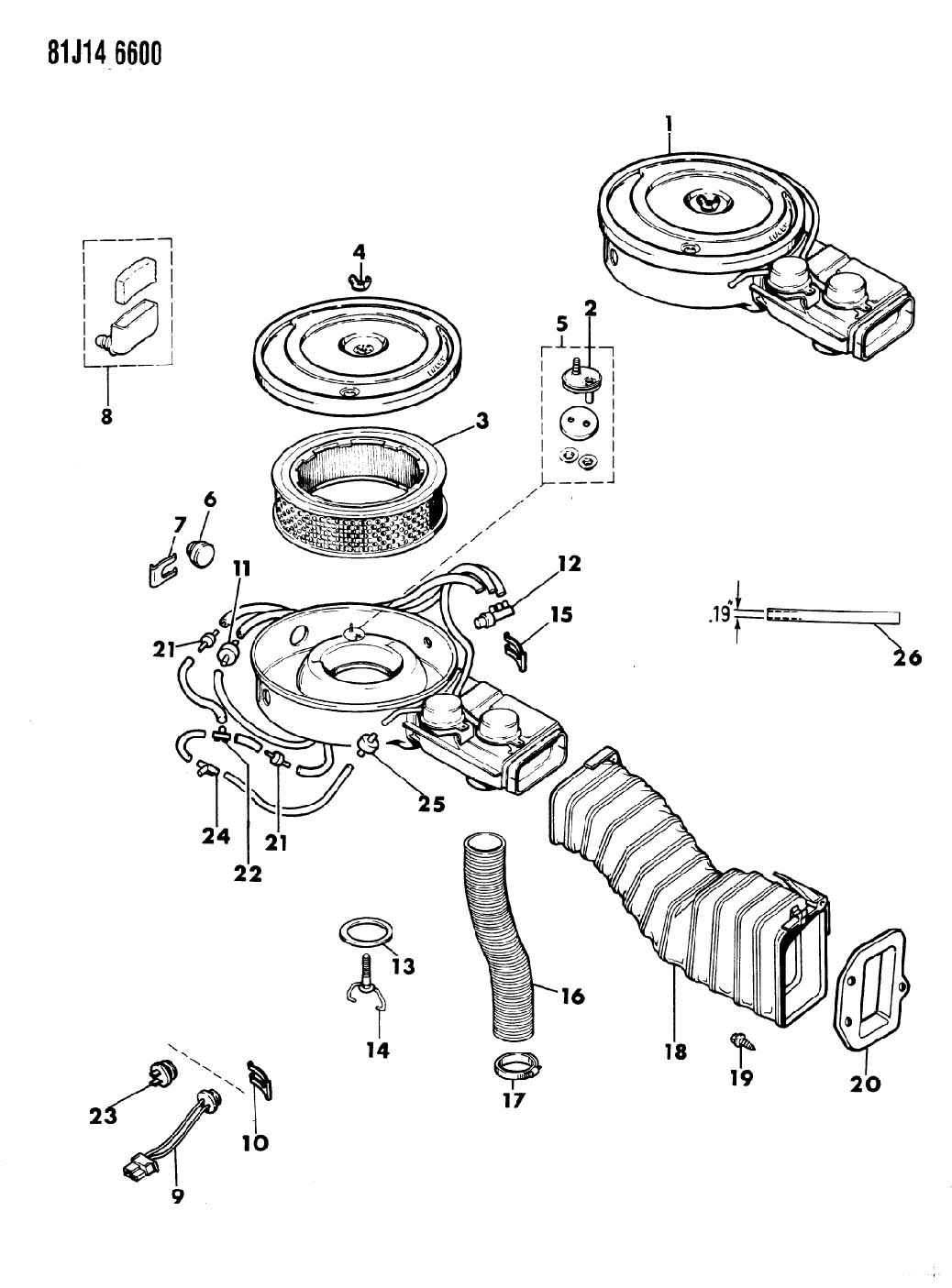 j3210891 tee washer hose connector  hose carbureted jeep cj wiper switch wiring diagram