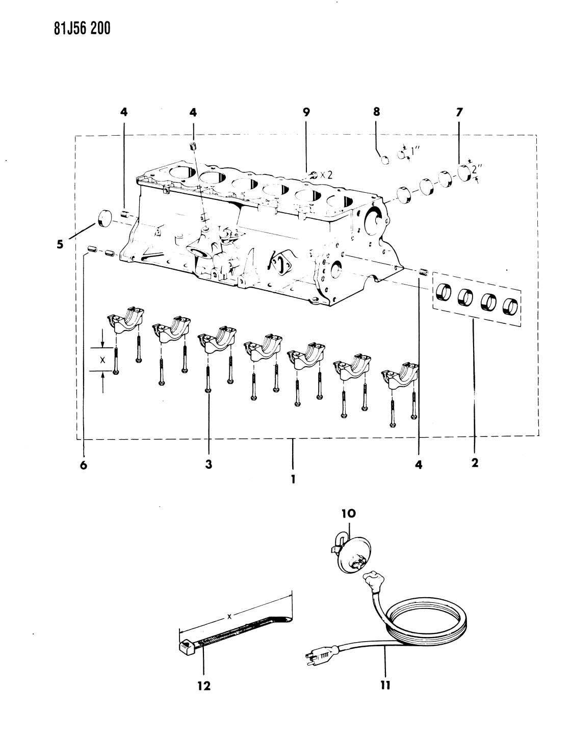 2004 Jeep Wrangler Engine Block Heater For 4 0l I6 Engine