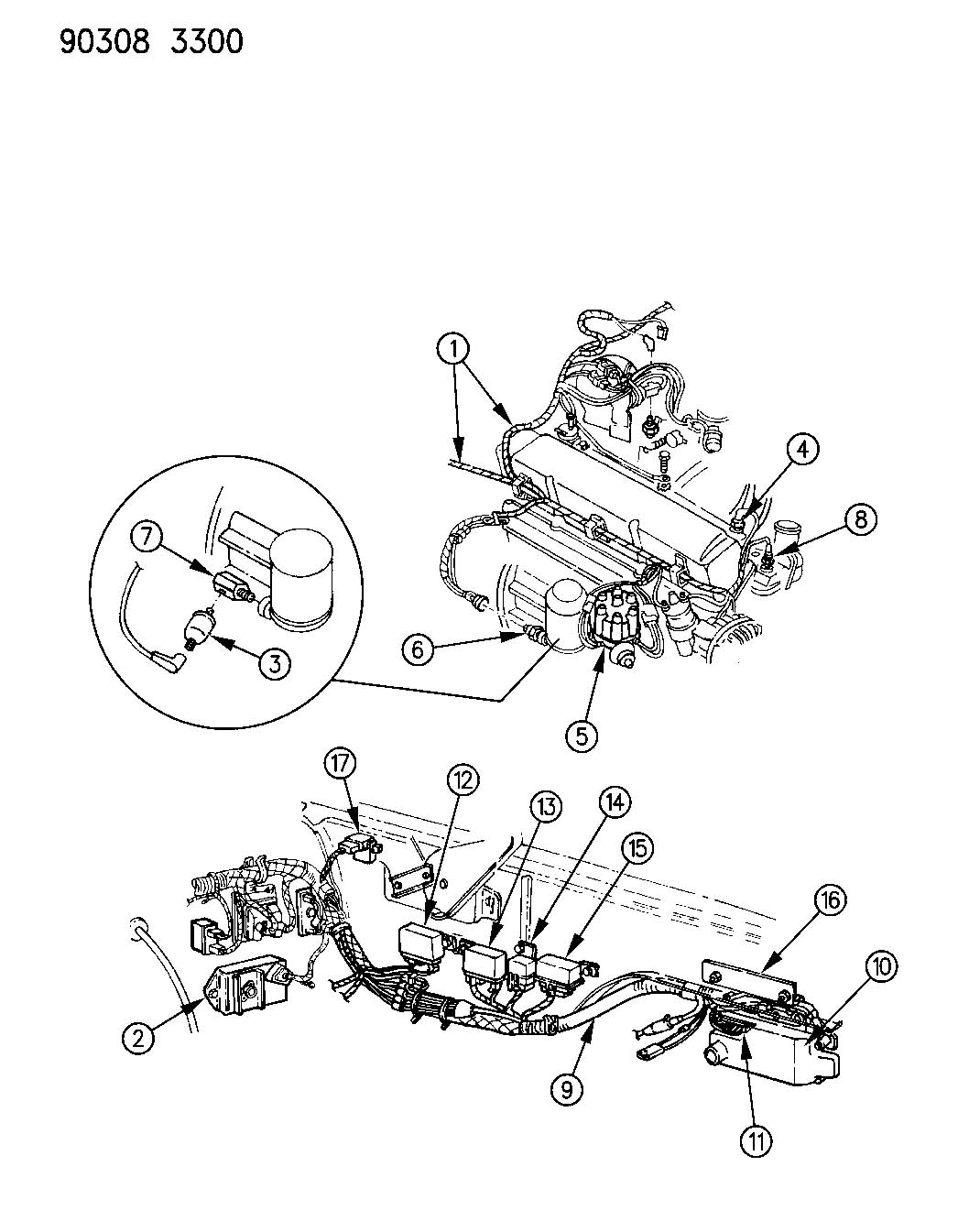 92 chrysler lebaron engine diagram  92  free engine image