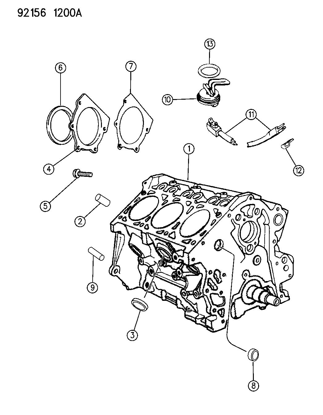 Dodge Grand Caravan Chain Package  Timing