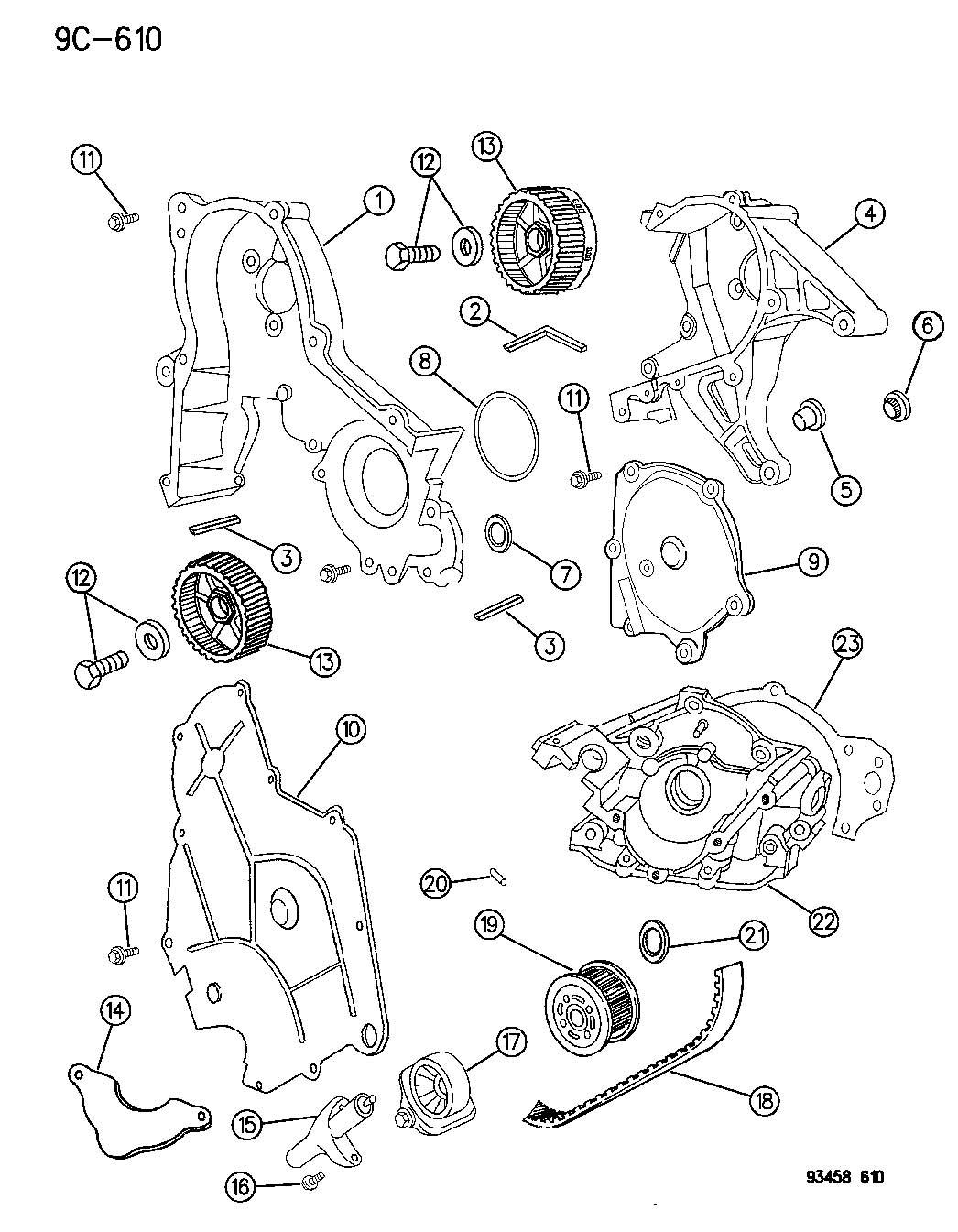 Chrysler Lhs Gear  Camshaft  Left