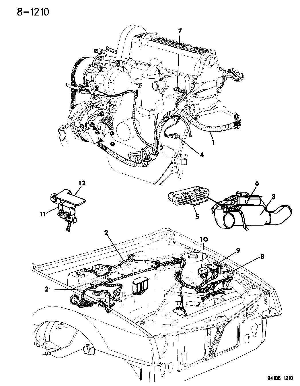 Chrysler Grand Voyager Sensor  Map  Insul