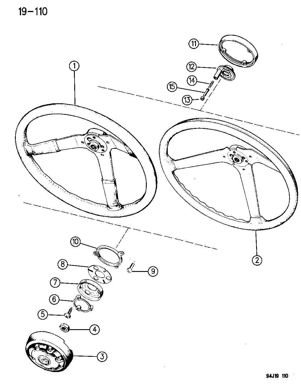 1995 jeep wrangler wheel  steering wrangler   yj