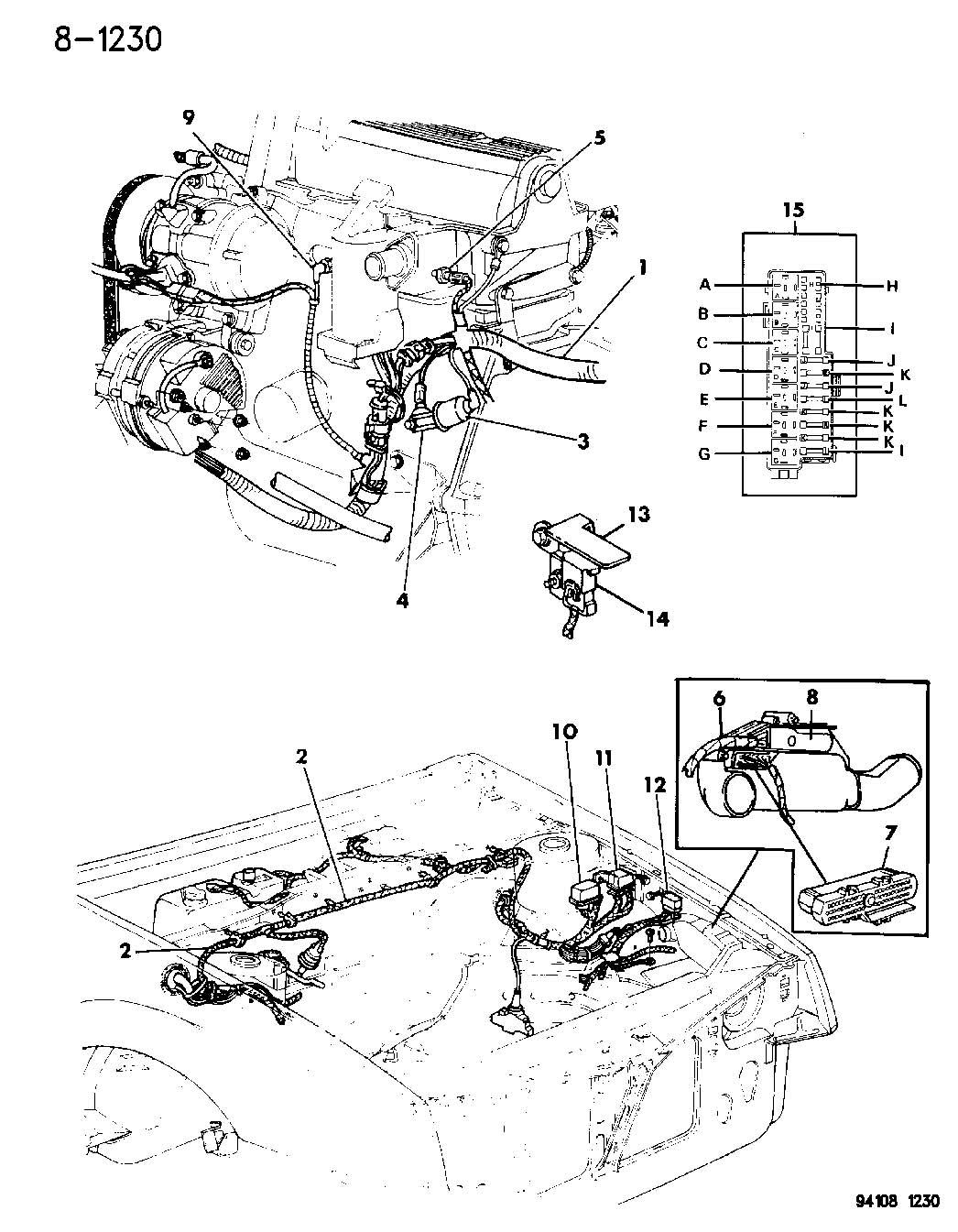 Chrysler Voyager Sensor  Map  Insul  Term