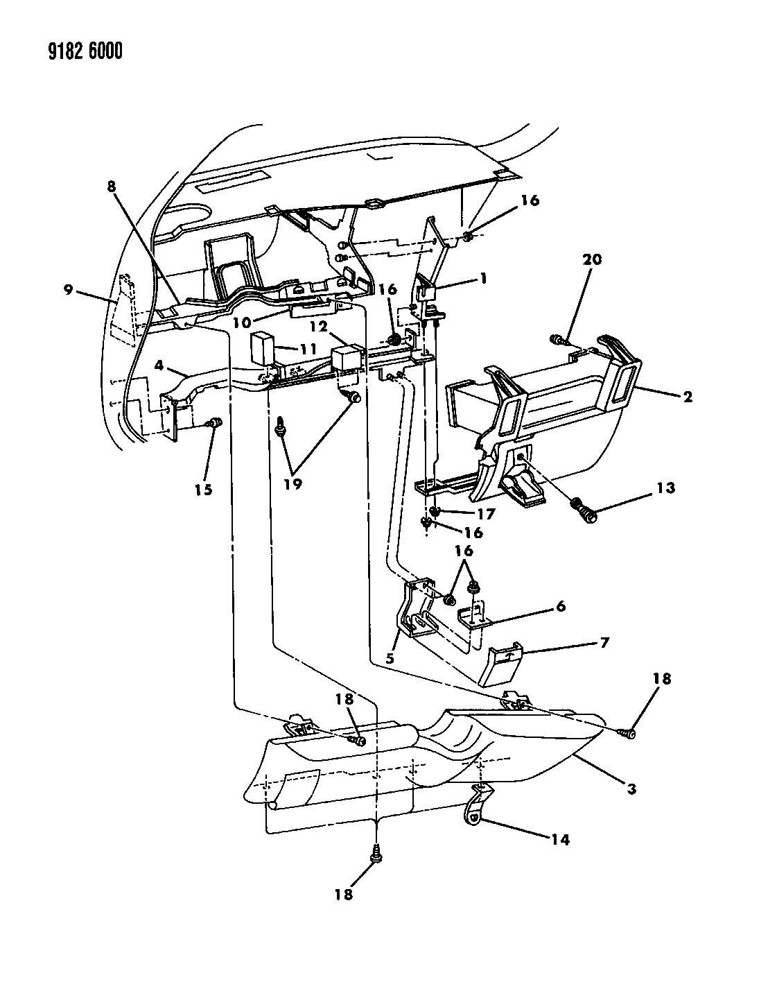 00000YEW  Dodge Grand Caravan Wiring Diagram on rear suspension, radiator system, sliding door parts, body parts, stereo wiring, brake repair, radio wiring, fuel tank, serpentine belt,