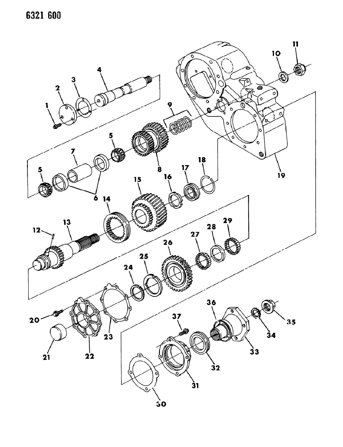 Dodge Ram 2500 Washer  Transfer Case Yoke  Spline  Dhr