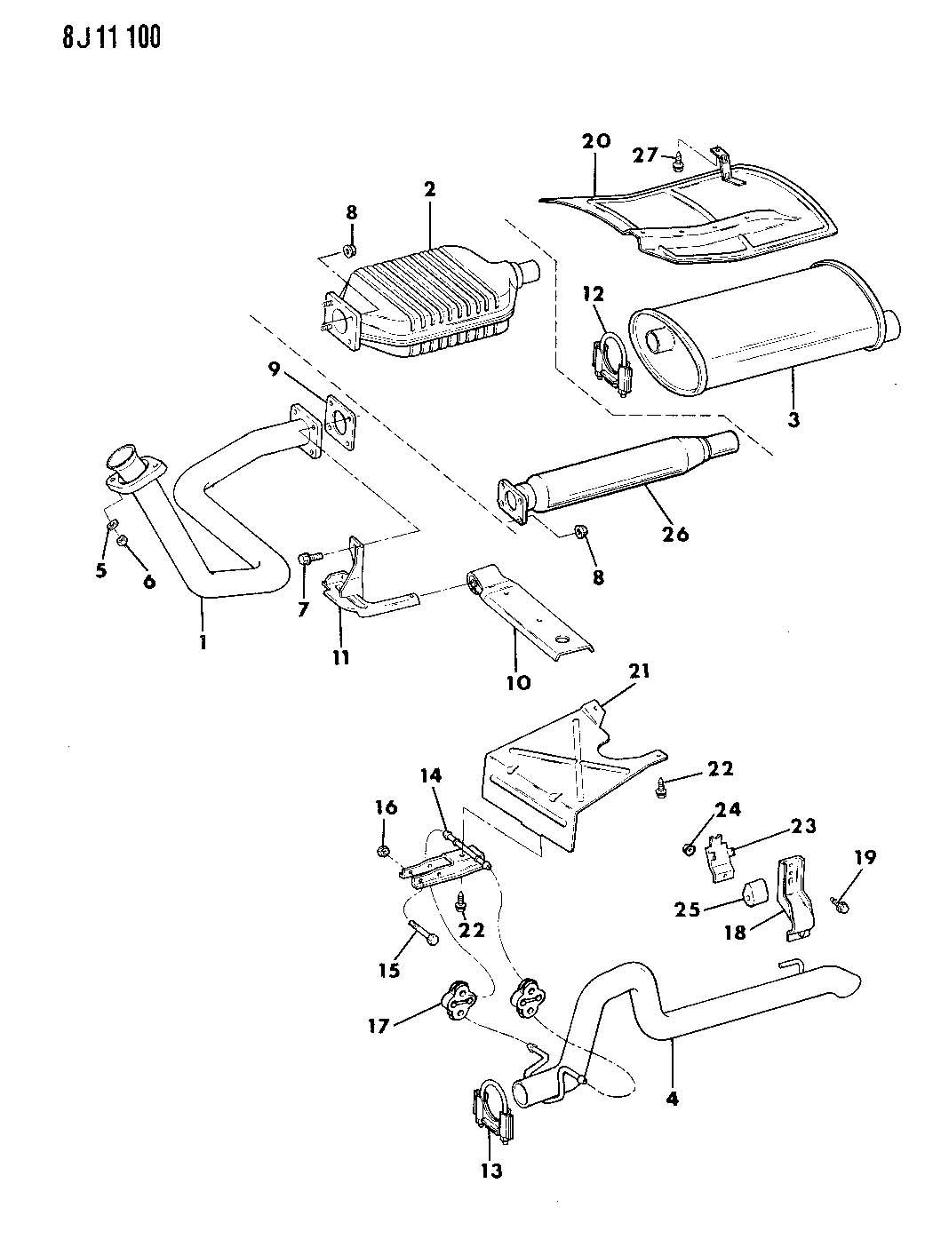 Jeep Wrangler Exhaust System Diagram Car Interior Design