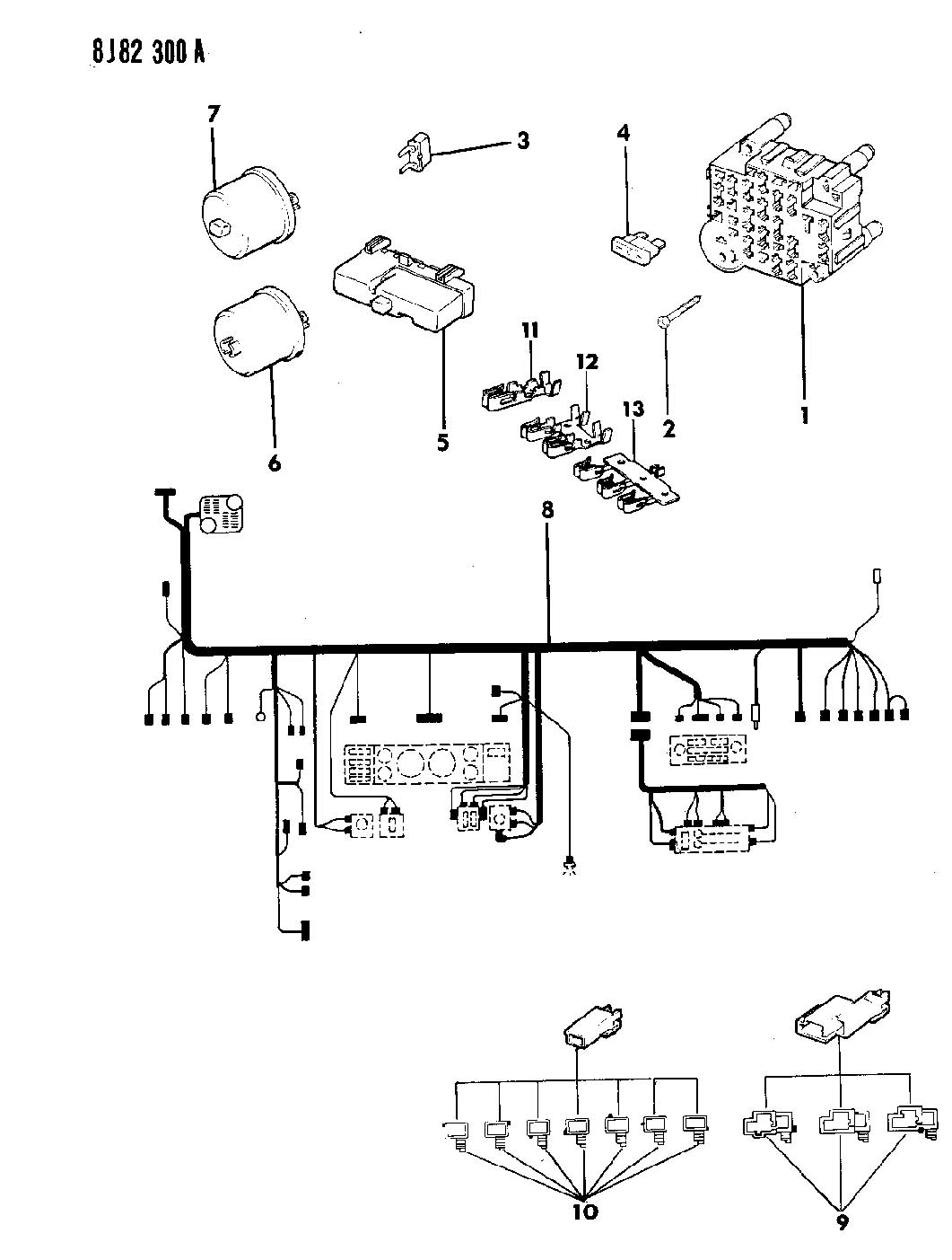 1989 jeep cherokee wiring diagram free picture