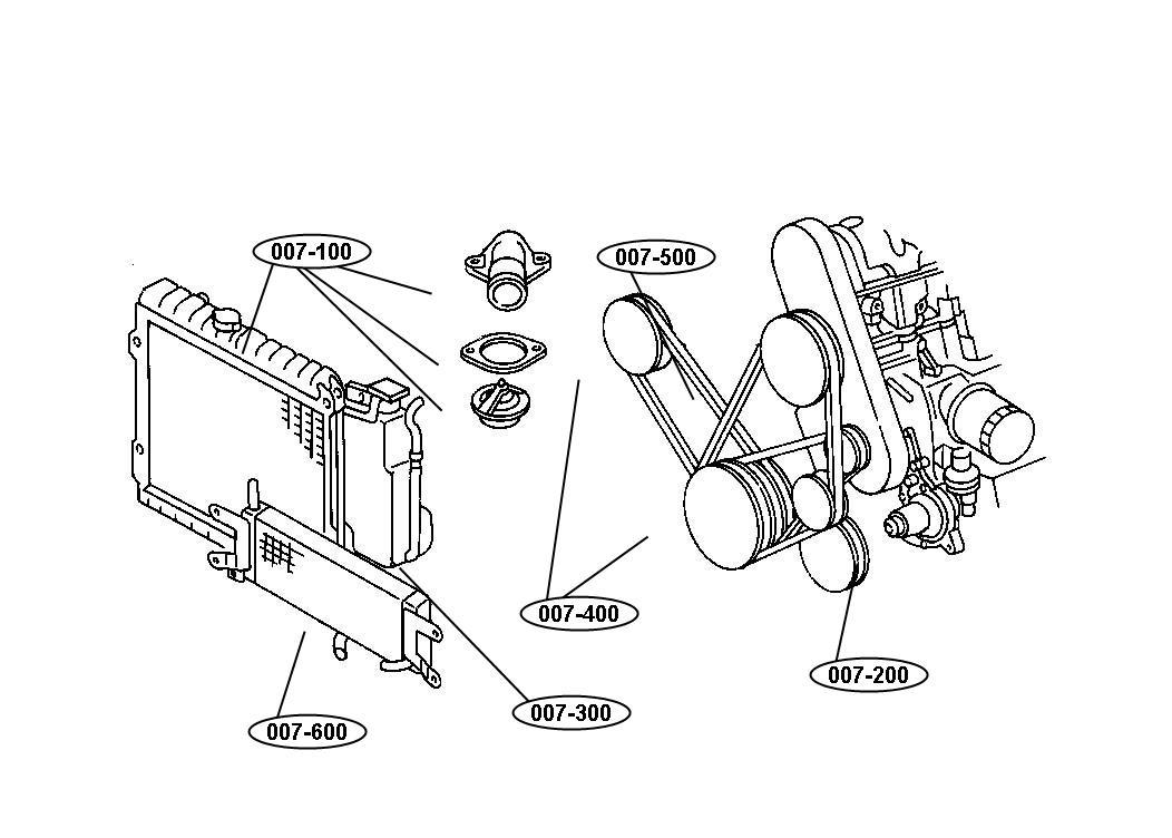 Chrysler Cirrus Starter  Engine