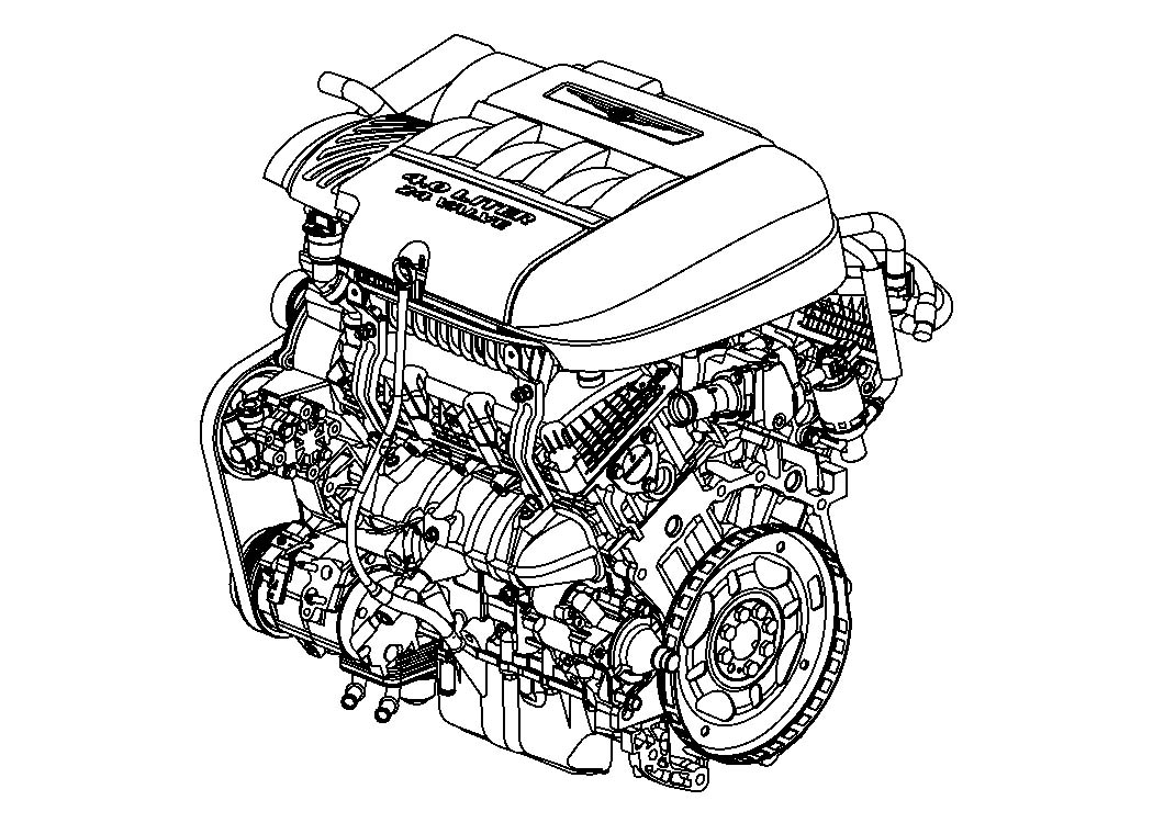 Diagram 4.0L Gas; Engine for your 1988