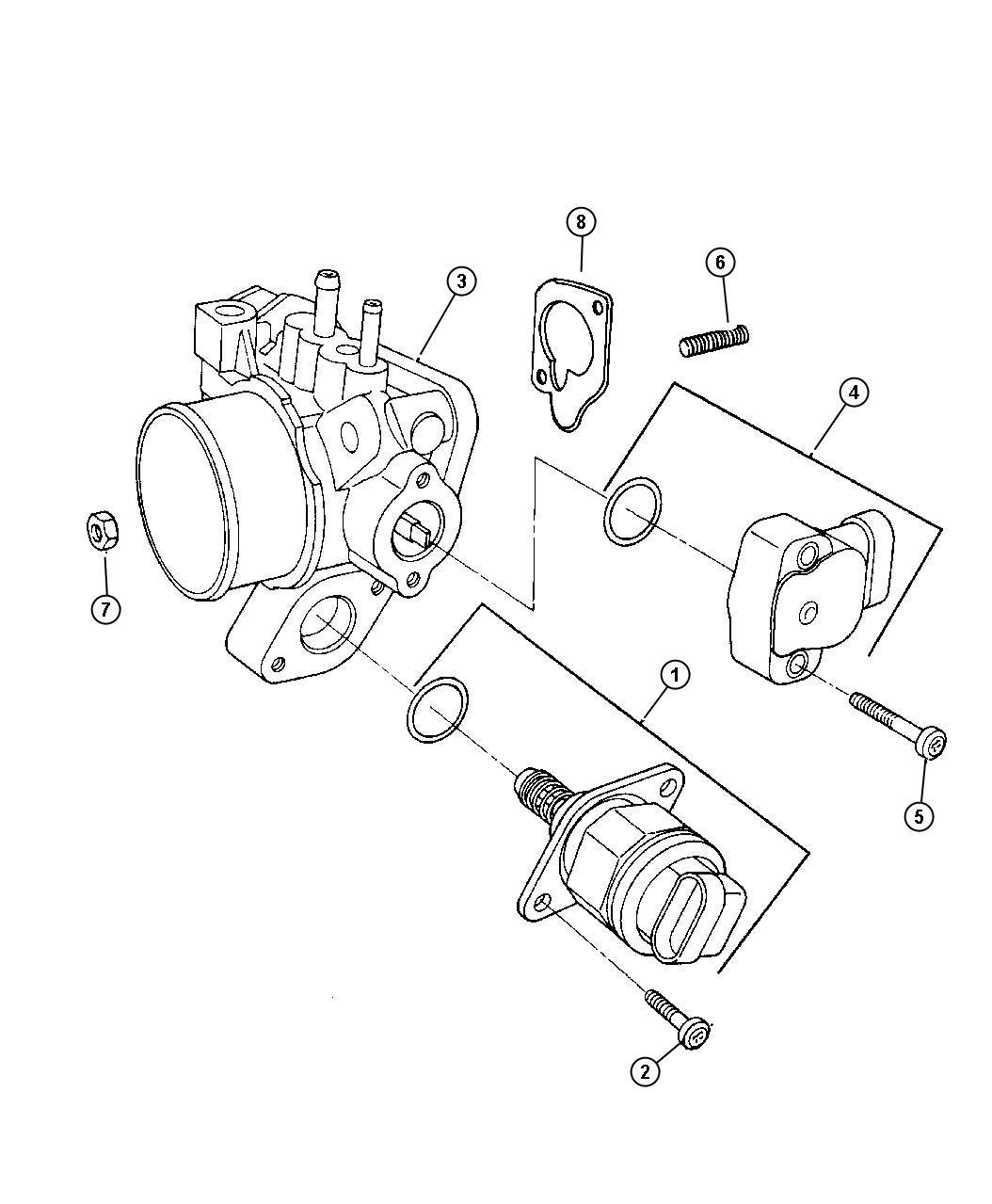 Dodge Caravan Motor. A.i.s. With (edv) engine - 04861164AB ...