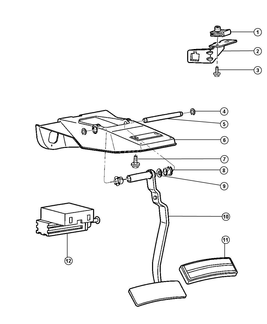 Dodge Ram 3500 Switch  Stop Lamp