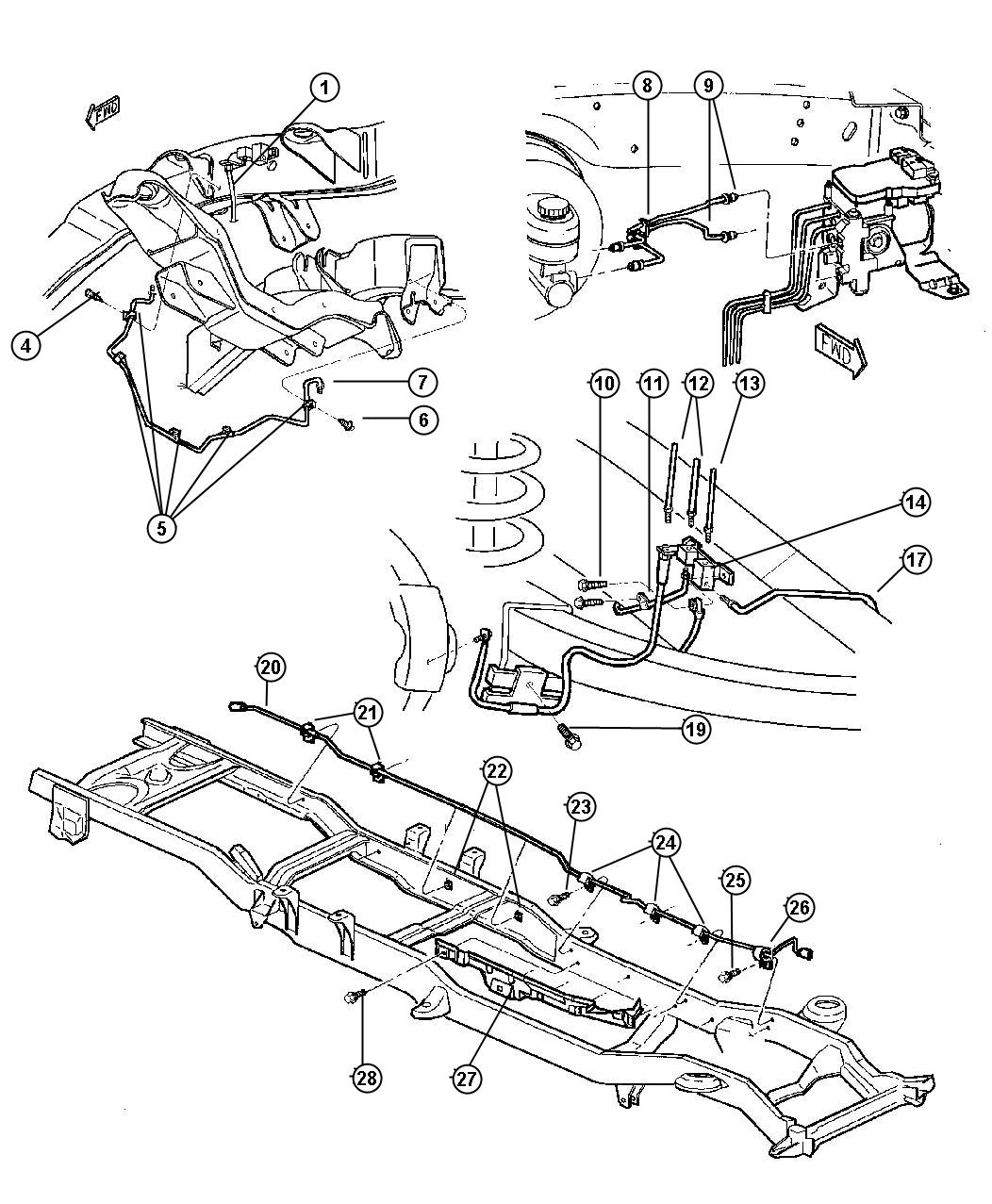 dodge 2500 frame diagram  dodge  free engine image for