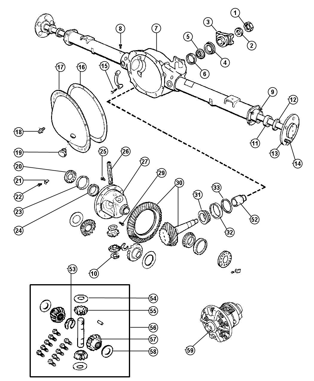 Dodge Dakota Parts Diagram Drivetrain Dodge Auto Wiring