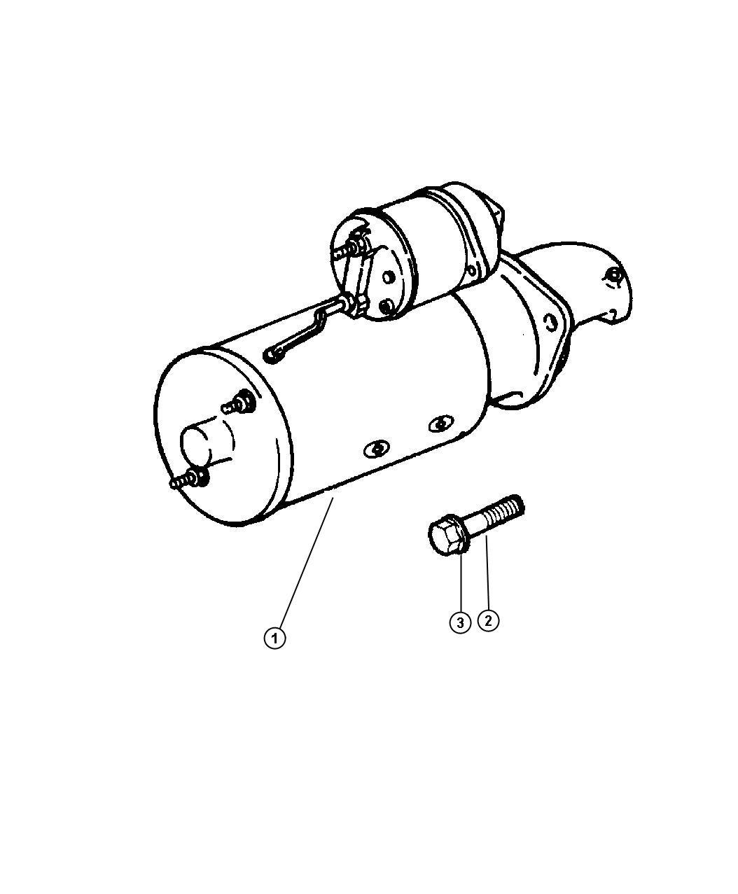 starter motor dodge ram 1500