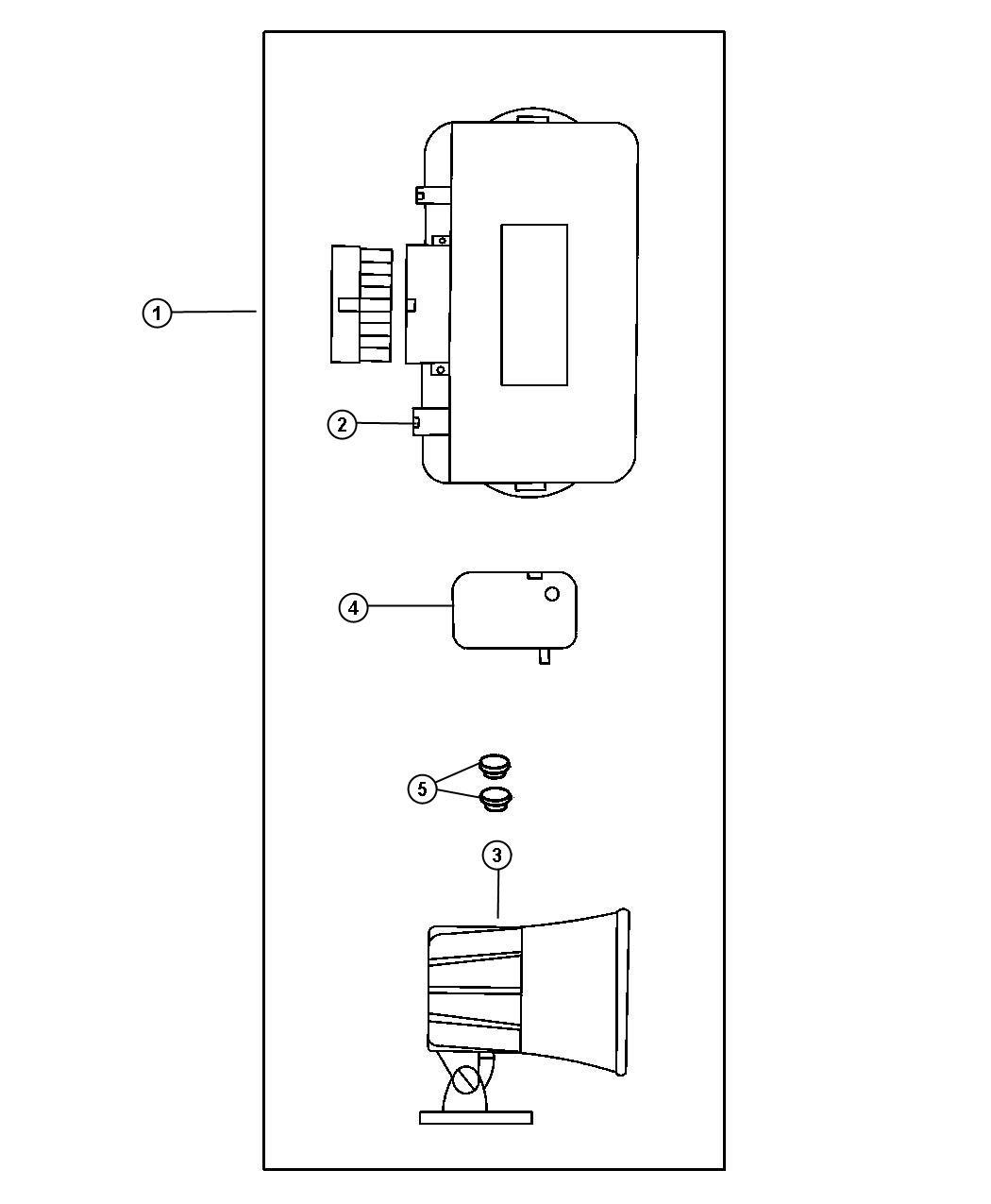 Chrysler Pt Cruiser Wiring Kit  Alarm Without Keyless