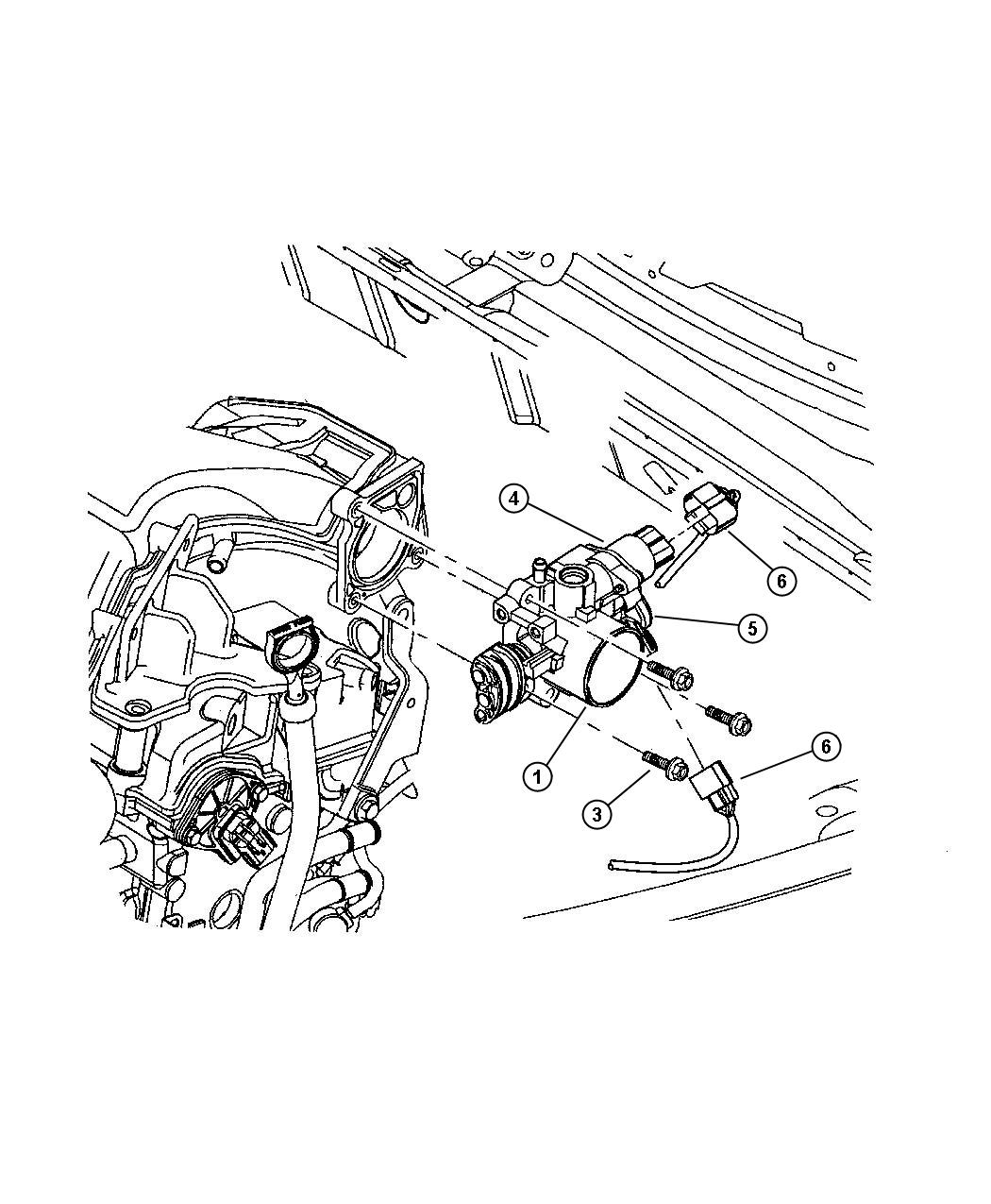 Plymouth Breeze Sensor  Throttle Position  Smpiengine