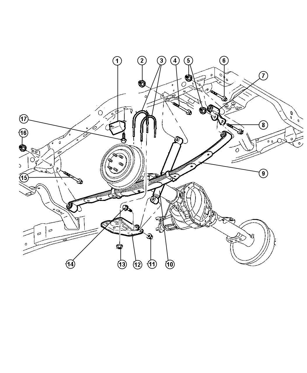 I on Dodge Durango Rear Bumper Diagram