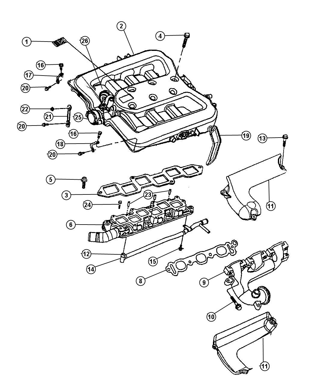 diagram of 2000 dodge intrepid engine