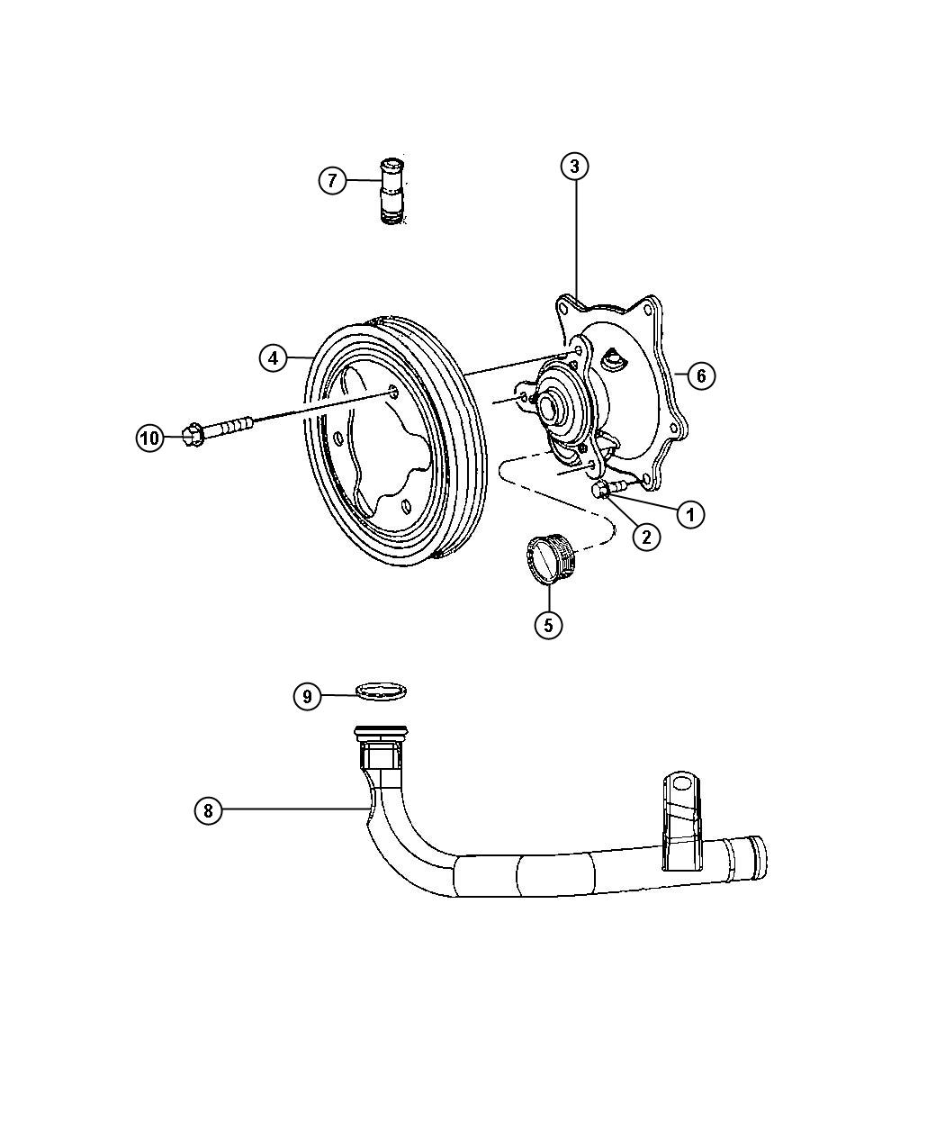 1996 chevy monte carlo water pump
