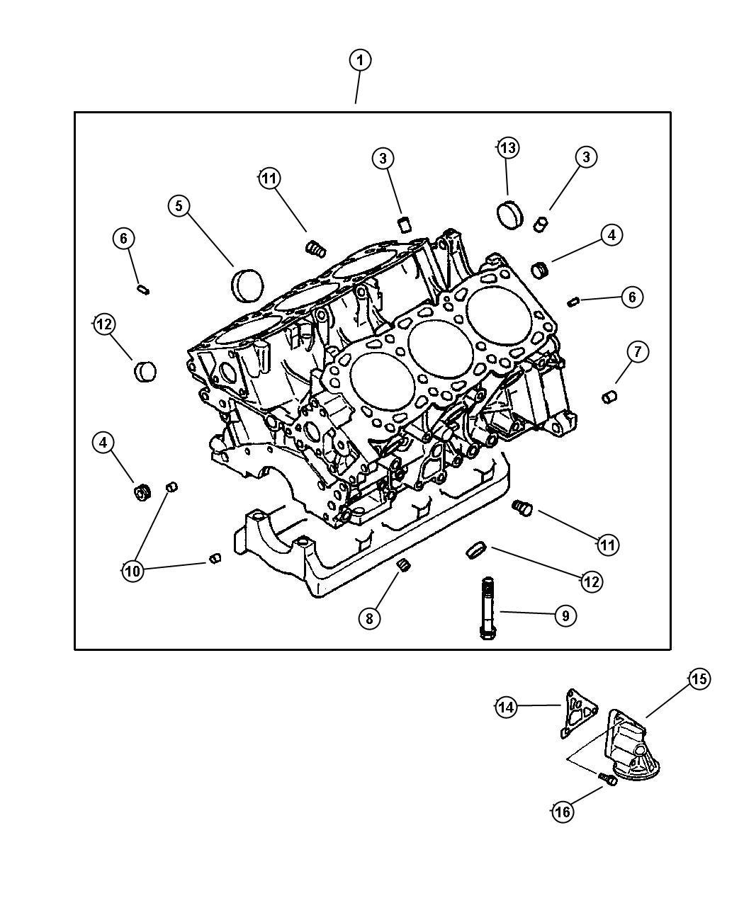 Chrysler Sebring Engine  Short