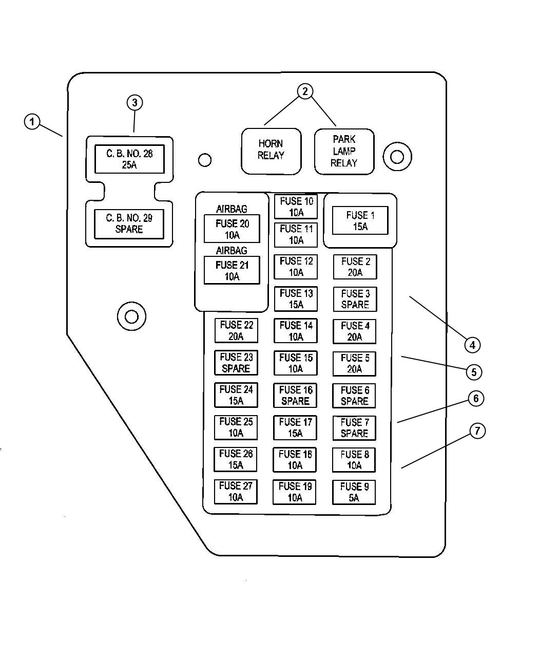 93 Dakota Fuse Box Diagram Wiring Diagram Store Series A Store Series A Pasticceriagele It