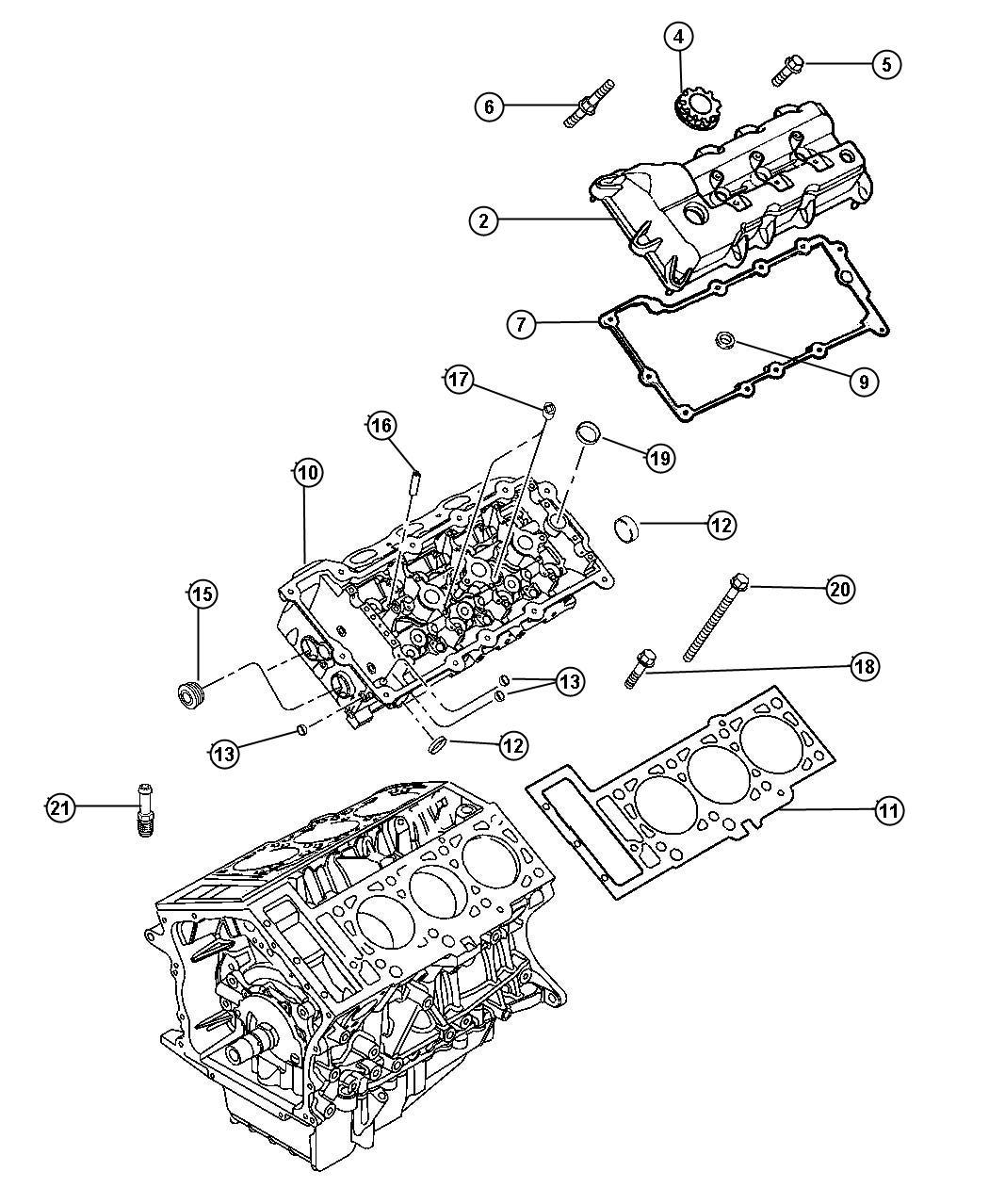 Dodge Intrepid Gasket Package  Engine Upper