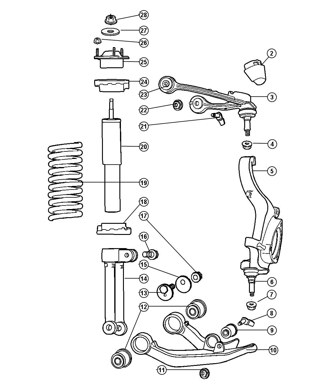2006 Jeep Liberty Front Suspension Diagram Wiring Diagrams Engine Part Rear Communication System Parts Grand Cherokee