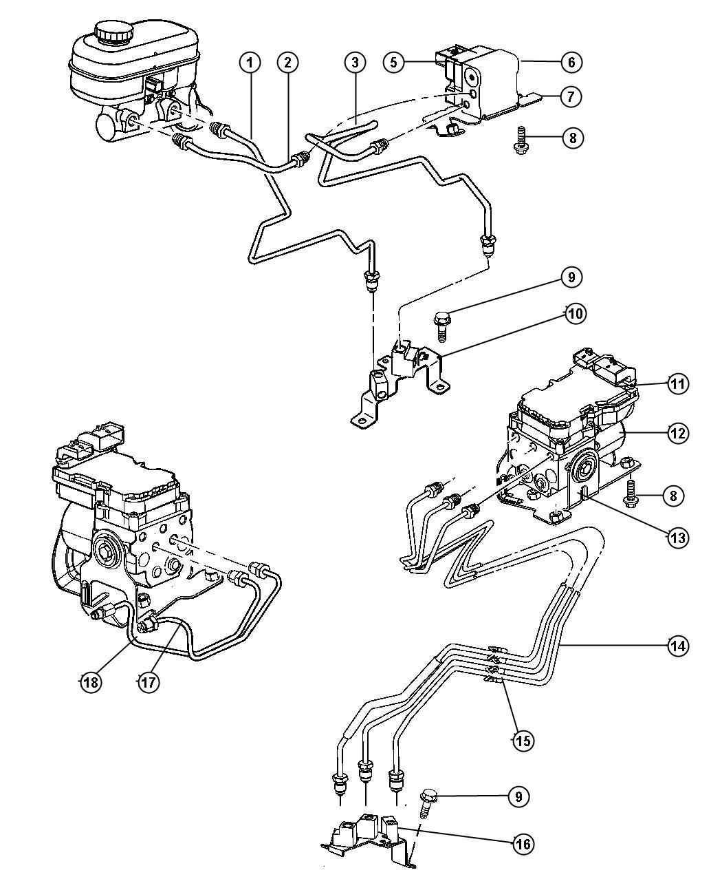 I on Dodge Durango Brake Line Diagram