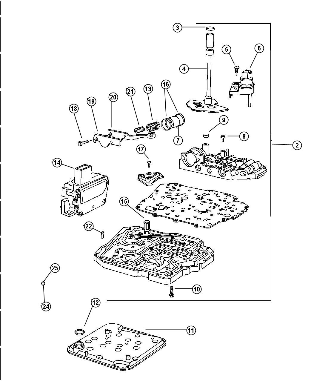 dodge 42re transmission exploded view diagram 2001 dodge