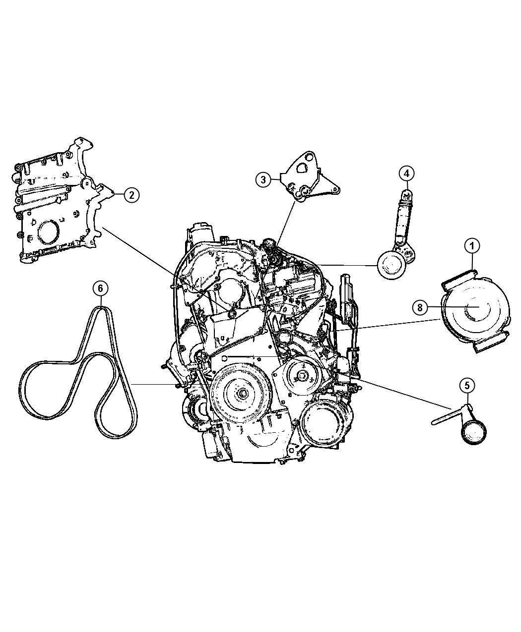 Dodge Sprinter Pulley  Alternator  90 Amp  Except 150 Amp