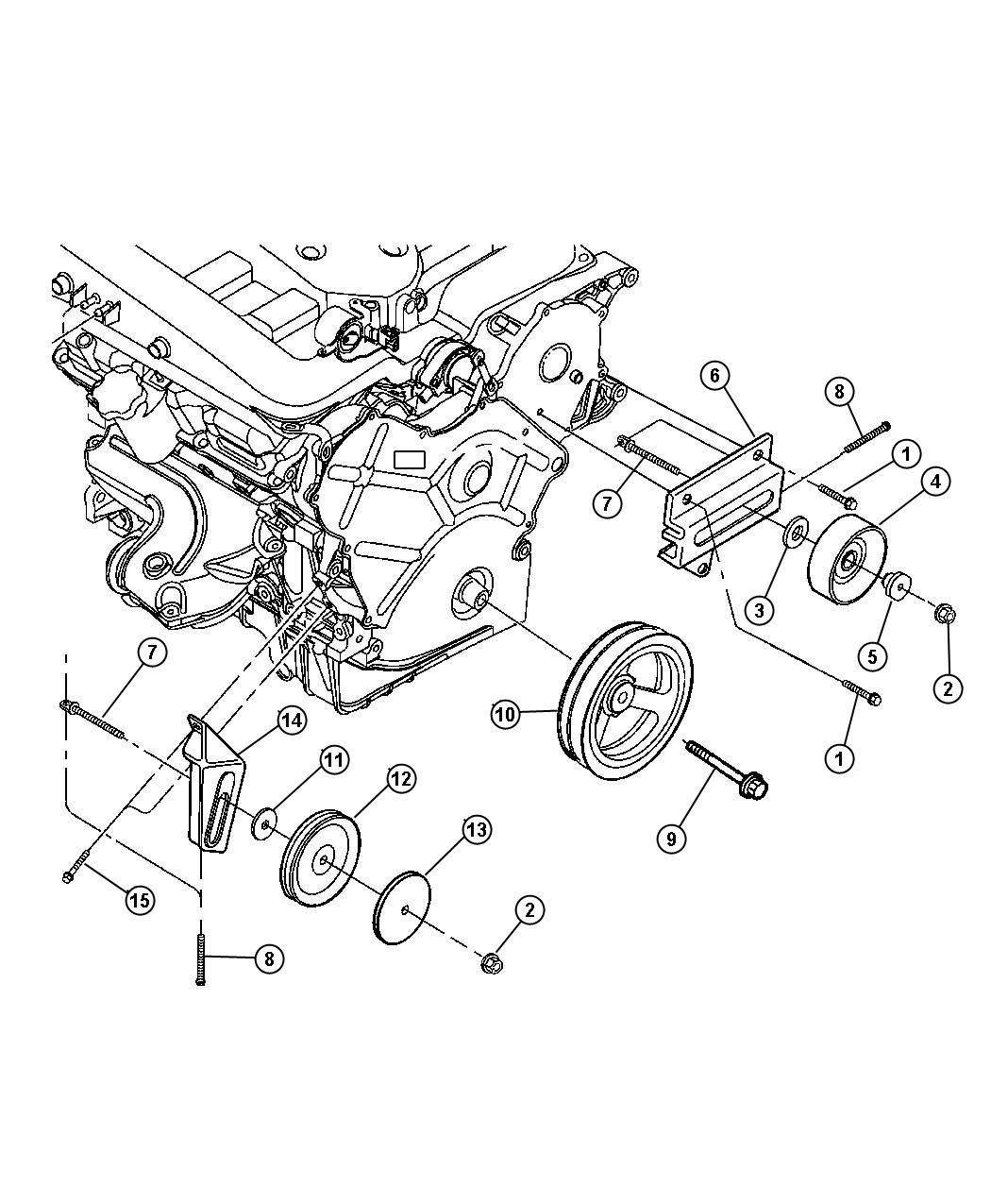 2005 chrysler 300c front suspension diagram