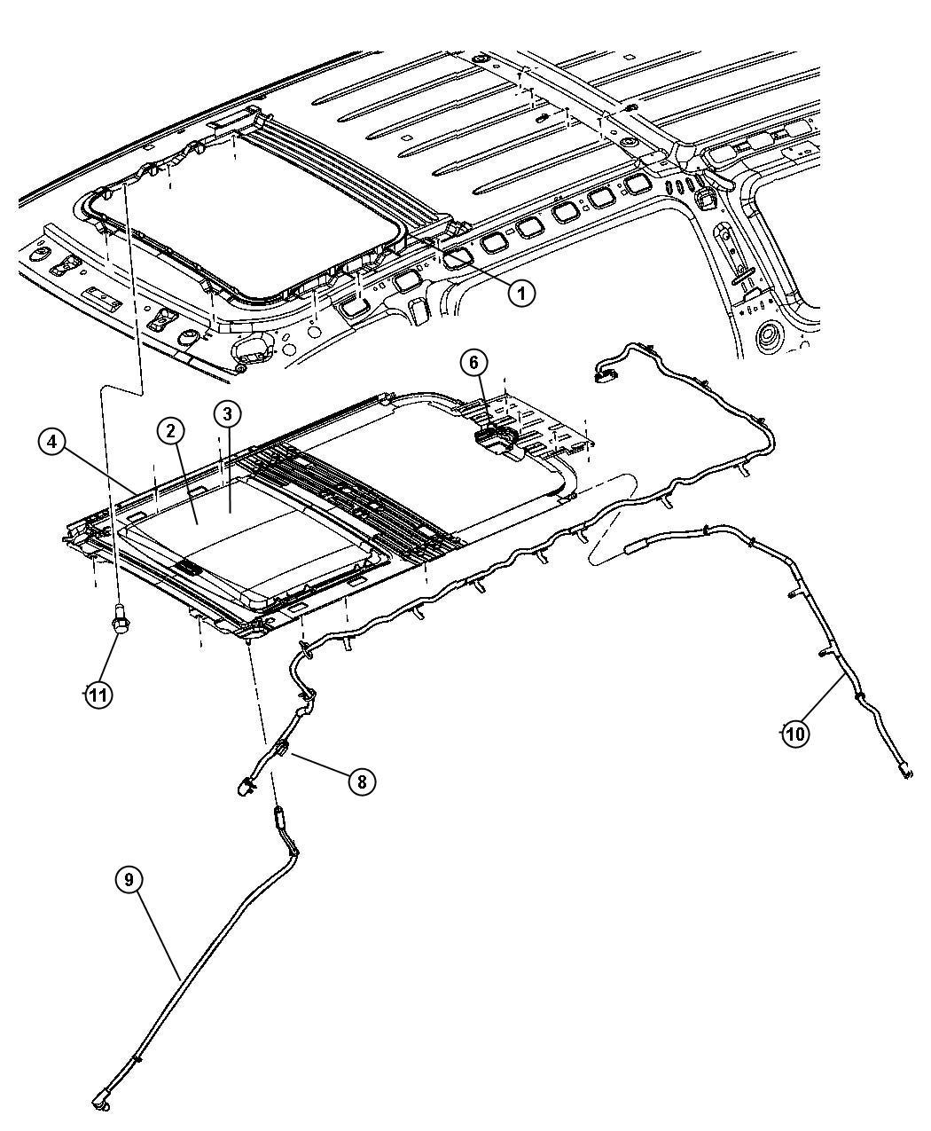 2004 dodge durango roof parts diagram  dodge  auto wiring