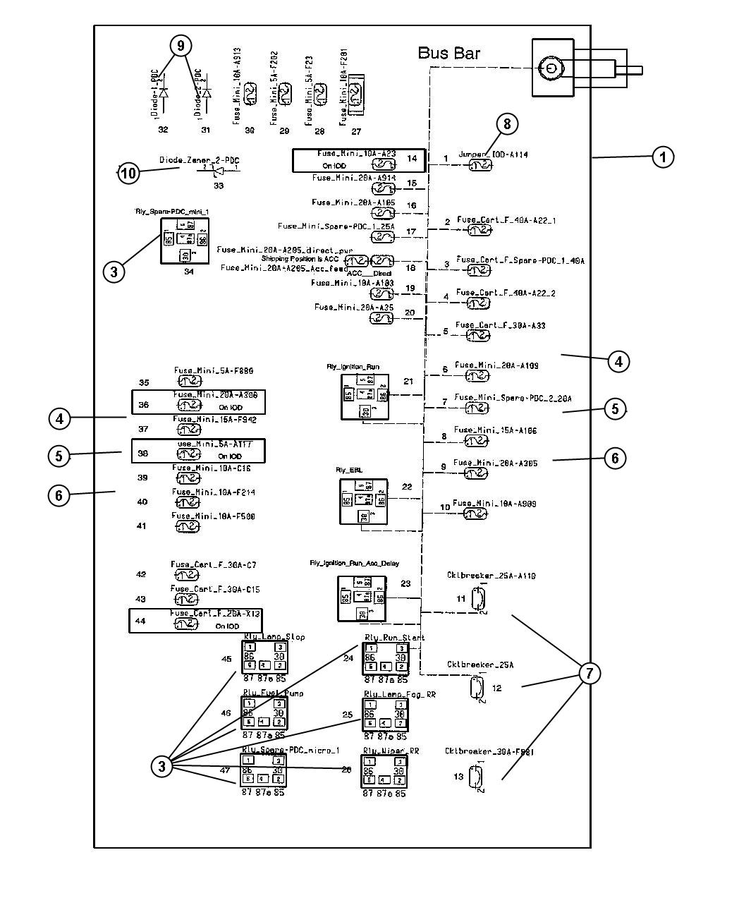 2005 Chrysler 300c Fuse Diagram Guide And Troubleshooting Of Pt Cruiser Wiring Box Get Free Image 300