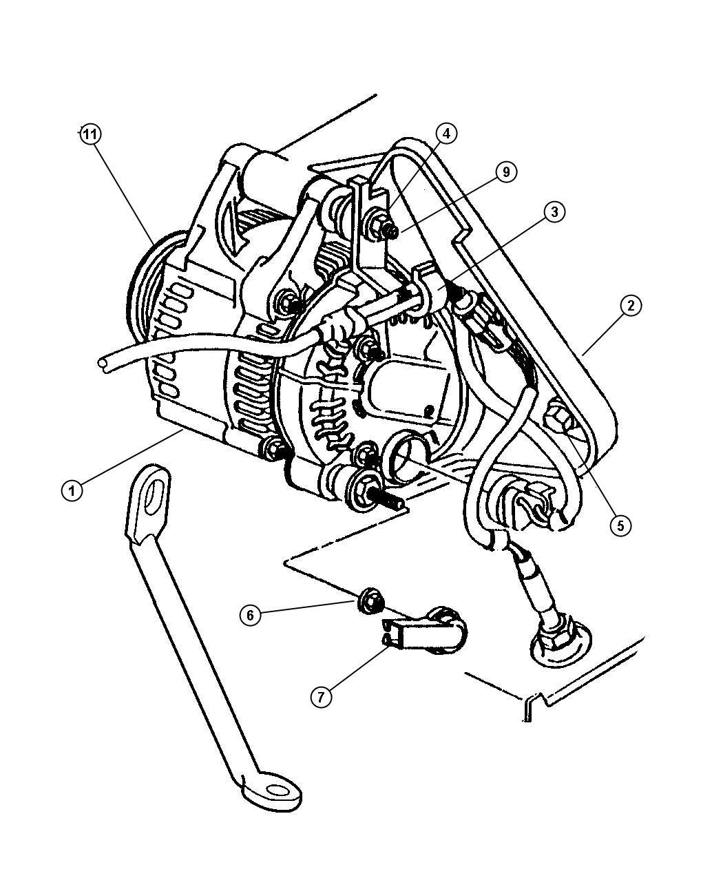 Dodge Intrepid Clip  Wiring  Transmission Wiring