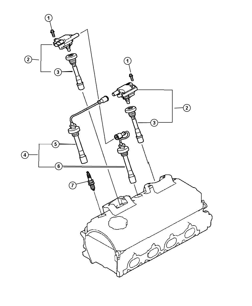 Dodge Stratus Coil  Ignition