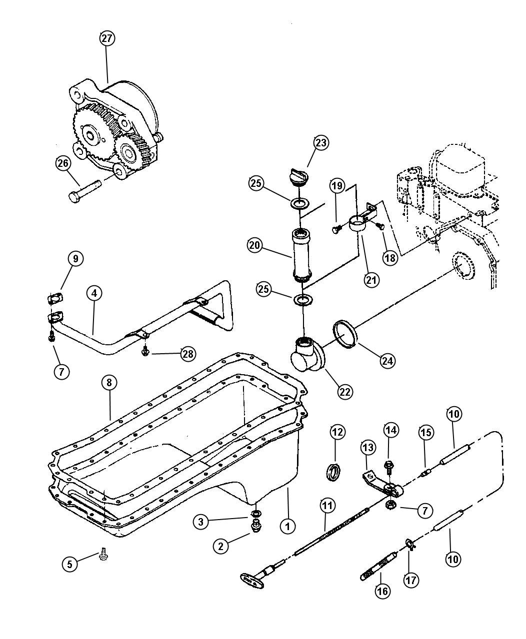 Dodge Ram 3500 Indicator  Engine Oil Level