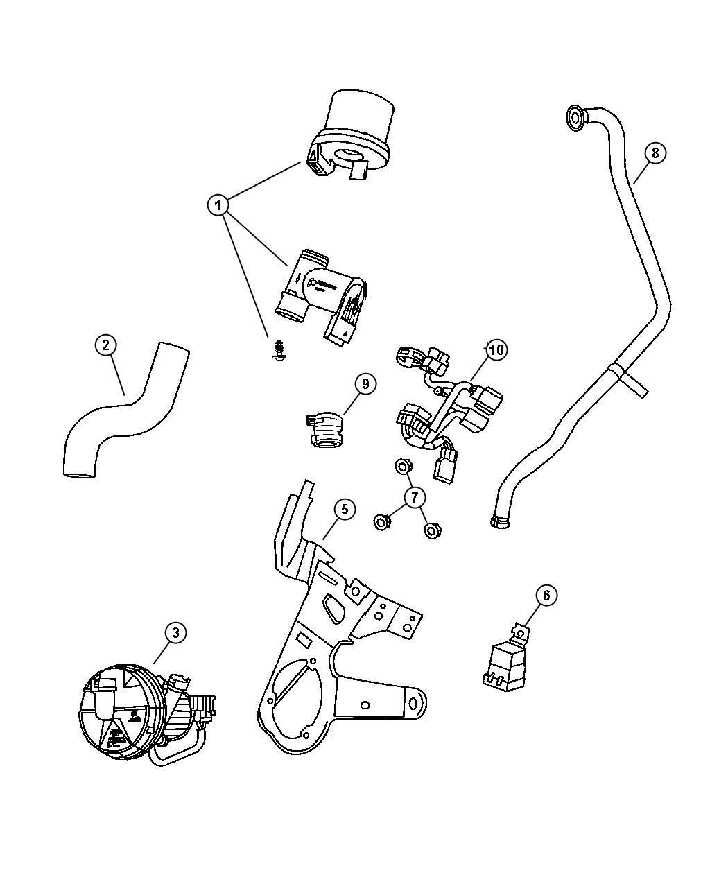 I on 2000 Dodge Stratus Cooling System Diagram