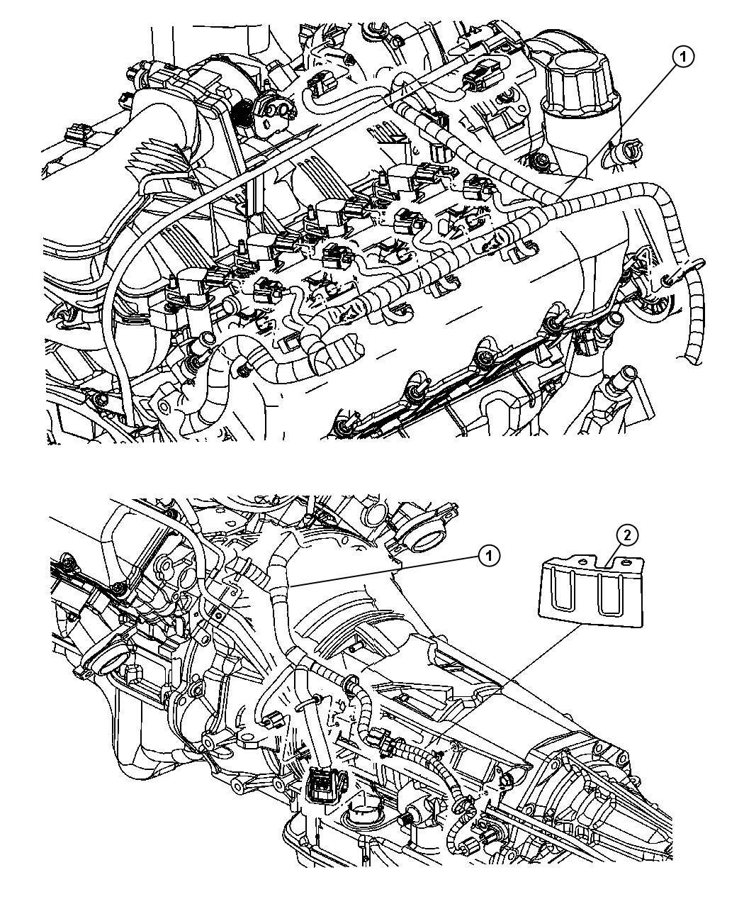 Dodge Dakota Wiring  Engine  Withtransmission