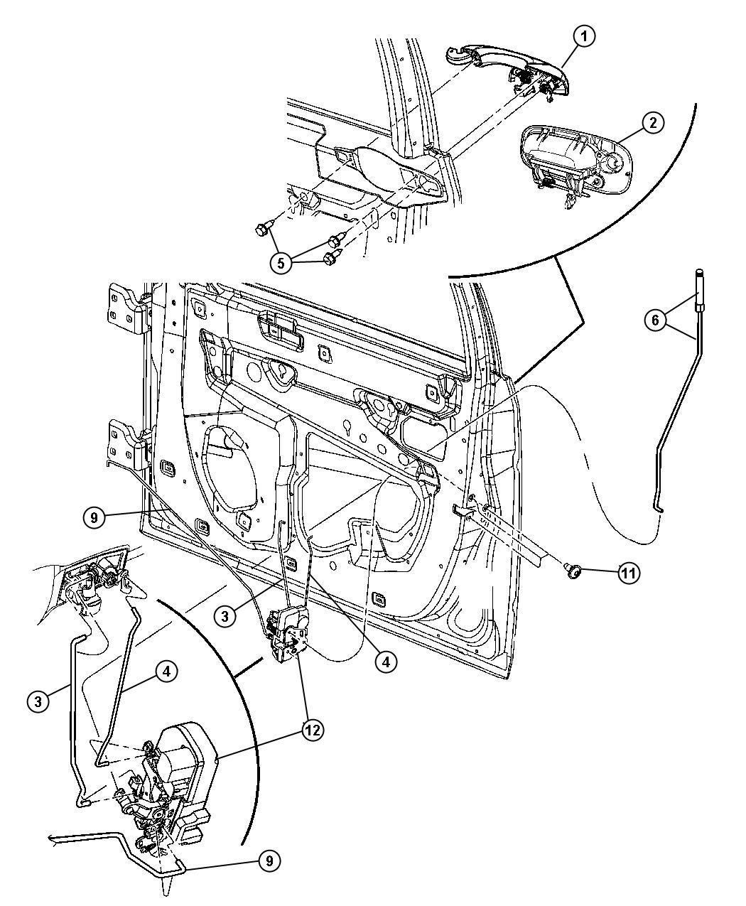Dodge Charger Handle. Exterior door. Right. [w1], [w1 ...